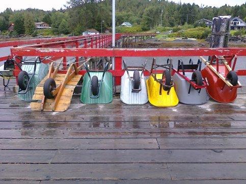 wheelbarrows in Dodge